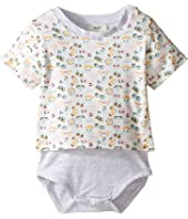 Fendi Kids - Short Sleeve Eye Print T-Shirt Bodysuit (Infant)