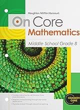 Houghton Mifflin Harcourt On Core Mathematics: Student Worktext Grade 8 2012