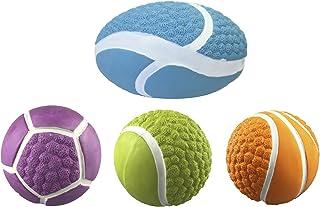 Croci Balls Fluo Pets Latex Toy, 10 cm