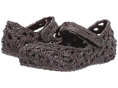 Mini Melissa Mini Melissa Campa 02 (Toddler/Little Kid) (Black Glitter) Girls Shoes
