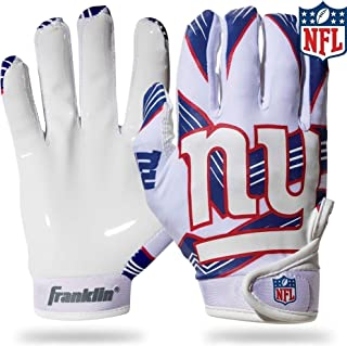 Franklin Sports Youth NFL Football Receiver Gloves – Receiver Gloves For Kids..