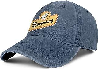 Bundaberg Rum Logo Women Cowboys Cap Casual Blitzing Retro Swimming Jeans Caps