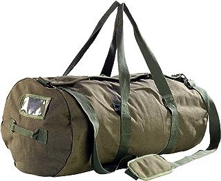 Xcase Seesack XXL: XXL-Canvas-Reisetasche mit gepolstertem Schultergurt, 100 Liter Seesack Reisetasche