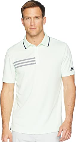 adidas Golf 3-Stripes Pique Polo