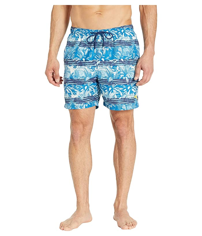 Tommy Bahama Naples Primo Palms Swim Trunk (Island Navy) Men