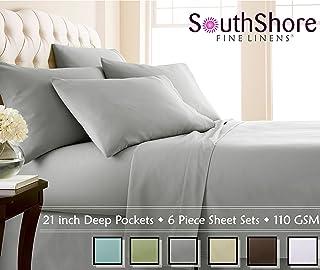 Amazon Com Extra Deep Pocket Sheet Pillowcase Sets Sheets