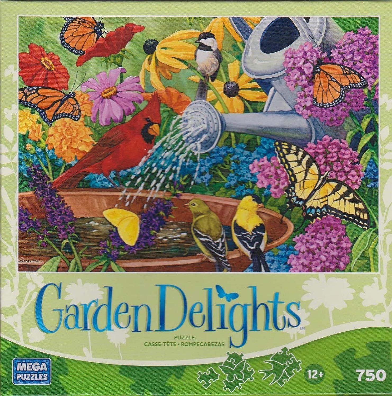 punto de venta de la marca Megabrands Garden Delights 750 Piece Piece Piece Puzzle Set - 6 Pack Bundle (Puzzles May Vary)  increíbles descuentos