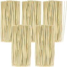 com-four® 500x Brochetas de madera de bambú - Brochas de