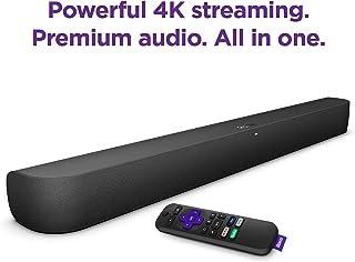 Roku Smart Soundbar with built-in 4K Streaming Media Player