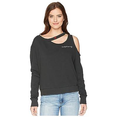 LNA Broken Hearts Sweatshirt (Oil) Women