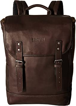 Kenneth Cole Reaction Colombian Leather - Computer Backpack
