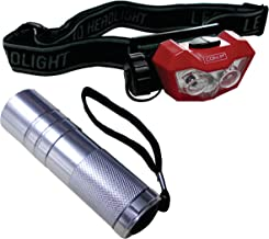Werkzeyt B29840 lampenset LED hoofd en zaklamp