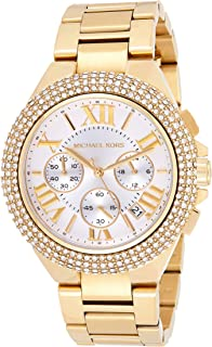 Michael Kors Womens Quartz Watch, Chronograph Display and Stainless Steel Strap MK5756
