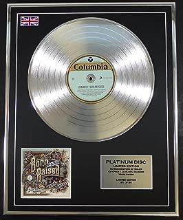JOHN MAYER/LTD EDITION CD PLATINUM DISC/BORN AND RAISED