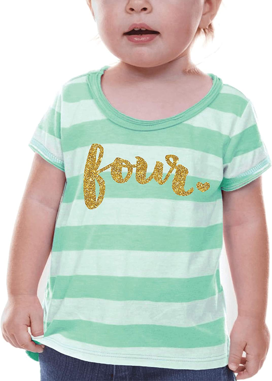 Bump and Beyond Designs Boston Mall Fourth Birthday Limited price sale Shirt Girl Birthd
