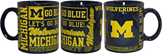 Boelter NCAA Michigan Wolverines 14oz Slogan Mug
