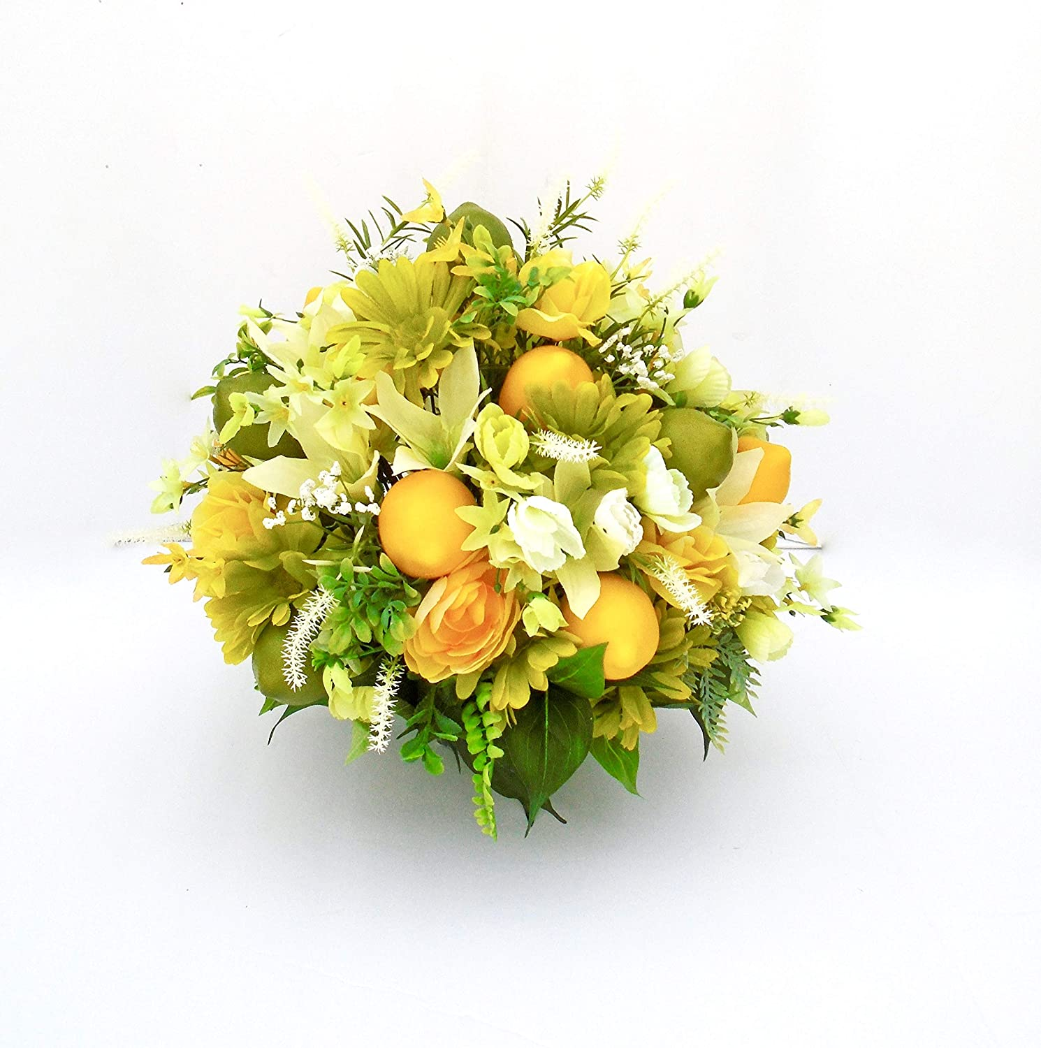 Beautiful Silk Floral Brand Cheap Sale Venue Arrangement with Ranking TOP17 Limes and Lemons