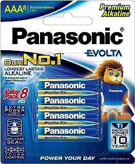 Panasonic AAA Batteries (8 pack) Evolta,, (LR03EG/8B)