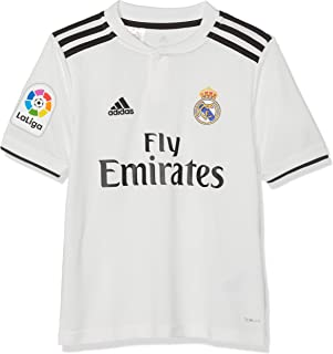 86df6b61 adidas 18/19 Real Madrid Home-Lfp Camiseta, Niños