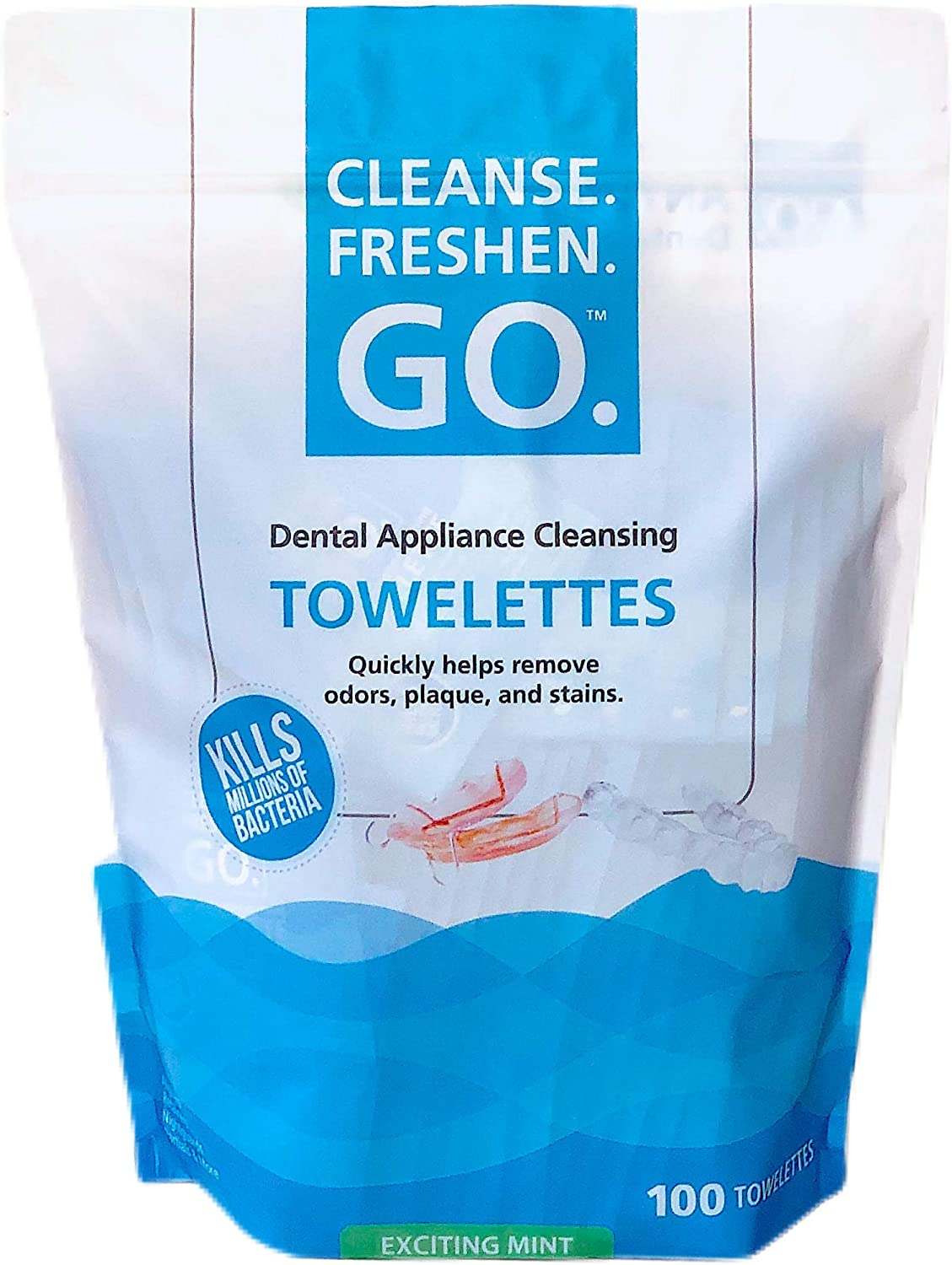 Cleanse.Freshen.Go. Anti-Bacterial Dental Appliance To Max 49% OFF Cheap SALE Start Cleansing