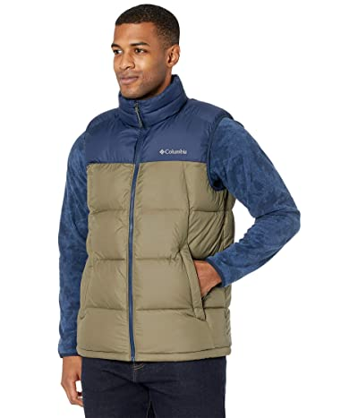 Columbia Pike Lake Vest (Stone Green/Collegiate Navy) Men