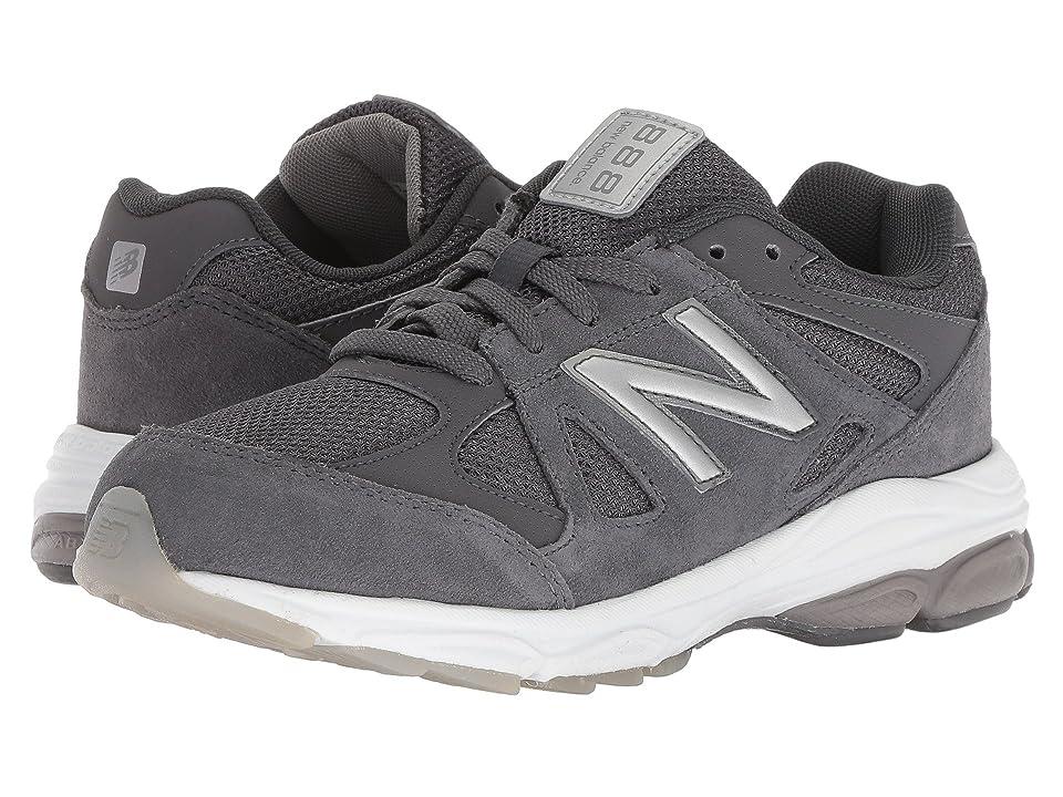 New Balance Kids KJ888v1G (Big Kid) (Magnet/Marblehead) Boys Shoes