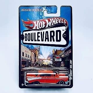 Hot Wheels '57 Chevy BEL AIR Big Hits 2012 Boulevard Series 1:64 Scale Die-Cast Vehicle