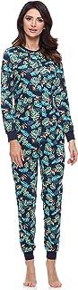 Pijama Entero Una Pieza Ropa de Casa Mujer MS10-187