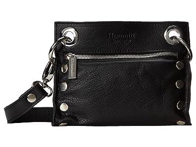 Hammitt Tony Small (Black/Silver) Cross Body Handbags