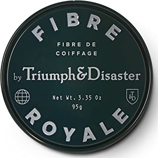 Fibre Royale 3.35oz Styling Hair Paste -Triumph & Disaster Fibre Royale Premium Non-Volumising Styling Hair Paste with Beeswax Argan Oil & Kawakawa – Unisex Natural Strong Hold for Men and Women with