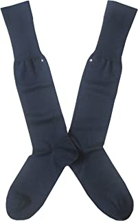 Binachi Sockmaker in Italy since 1932 - Calza rasata lunga, caldo cotone, uomo