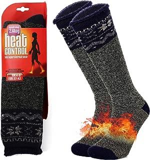 clootess Women Men Warm Thermal Socks - Ski Socks - Long Section Over-The-Calf Winter Heavy Socks