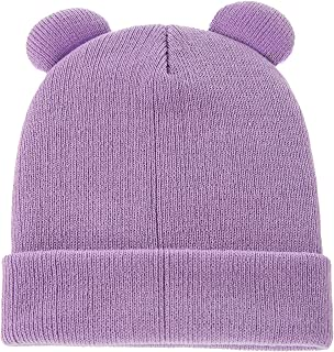 American Trends Baby Hats Soft Baby Beanies for Girls Warm Winter Baby Beanie Cute Baby Boy Knit Hat
