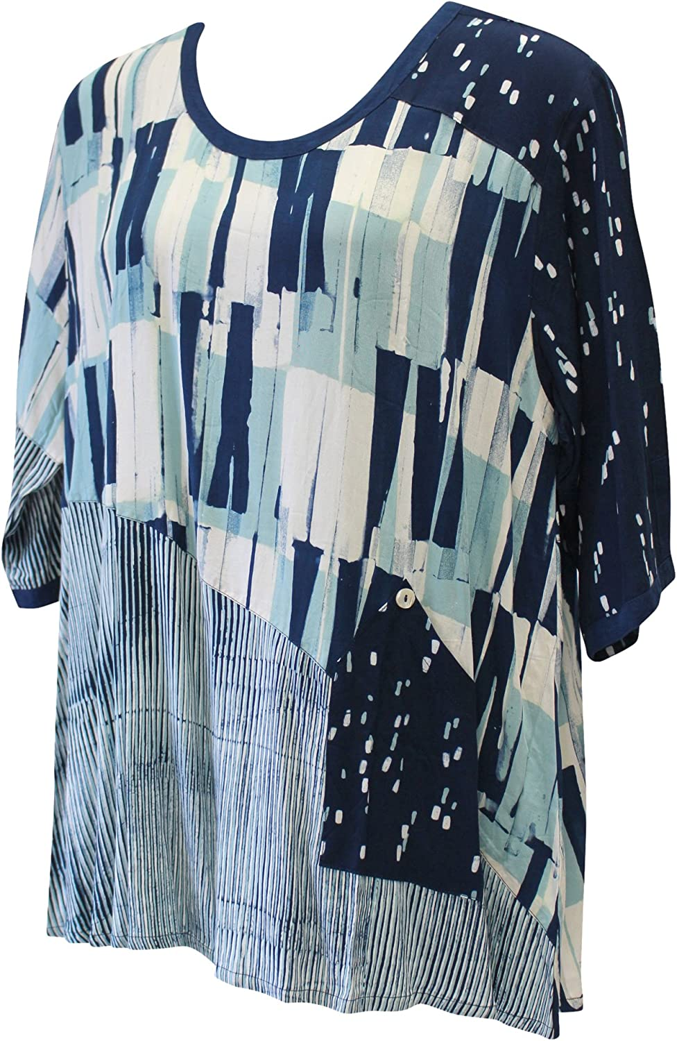 Iguana Large special price Women's Hand Painted Size Plus Tunic Combo Ultra-Cheap Deals