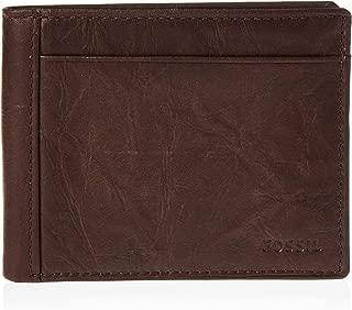 Men's Neel Leather Bifold Flip ID Wallet