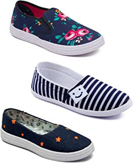 ASIAN Multicolor Running Shoes,Gym Shoes,Canvas Shoes,Casual Shoes,Loafers,Sneakers,Gym Shoes for Women Pack of 3