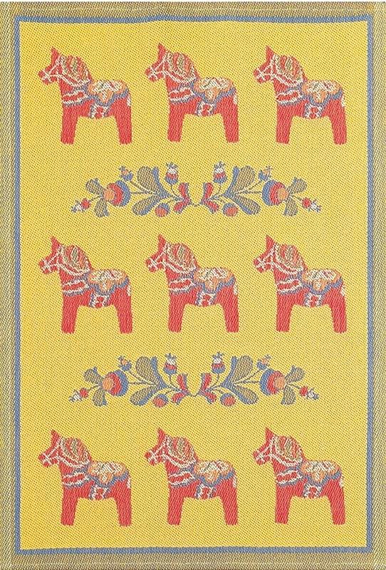 Ekelund Tea Towel Dala Horse Kurbits