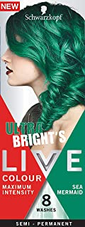 Schwarzkopf LIVE Colour Semi Permanent Hair Colour Ultra Brights Sea Mermaid 25ml