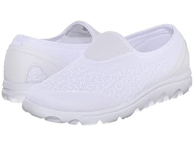 Propet TravelActiv Slip-On (White) Women