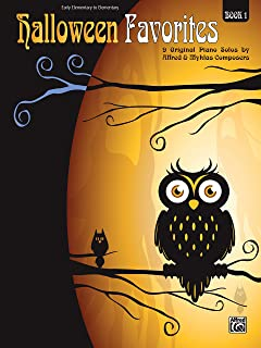 Halloween Favorites, Book 1: 9 Original Piano Solos by Alfred and Myklas Composers