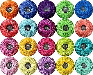 Best cotton thread size 5 Reviews