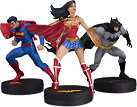 DC Designer Series: Jim Lee Collector Superman, Batman & Wonder Woman 3 Pack Statue Set