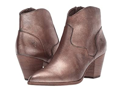 Frye Reed Bootie (Golden Silver Vintage Metallic) Women