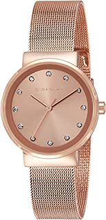 Giordano Analog Rose Gold Dial Women's Watch - A2047-33