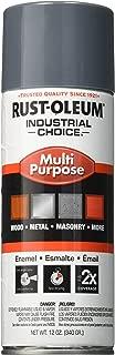 Rust-Oleum 202214 1600 System Multi-Purpose Enamel Spray Paint, 12-Ounce, Machinery Gray