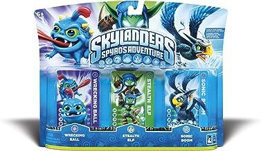 Skylanders Spyros Triple Pack 4 - Sonic Boom / Stealth Elf / Wrecking Ball