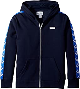 Converse Kids - Star Chevron Full Zip Hoodie (Big Kids)