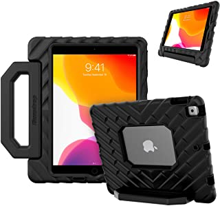 GumDrop FoamTech Case for The Apple iPad 8G /7G 10.2 inch (2021) Tablet for School and Office Use- Black Rugged EVA Foam, ...