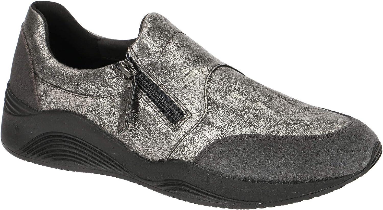 Geox Damen Laufschuhe, Farbe Farbe Grau, Marke, Modell Damen Laufschuhe D OMAYA Grau  billiger Großhandel