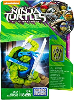 Mega Bloks Teenange Mutant Ninja Turtles: Out of the Shadows Building Kit, Styles May Vary